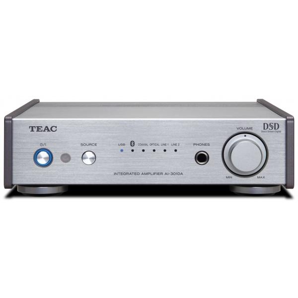 Стереоусилитель TEAC AI-301DA Silver cd проигрыватель teac pd 301 silver