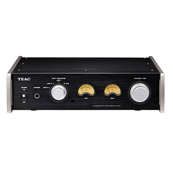 Стереоусилитель TEAC AX-501 Black teac pd 501hr black