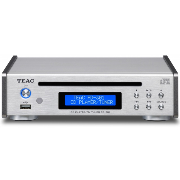 CD проигрыватель TEAC PD-301 Silver ultimate pd 1244b silver alu