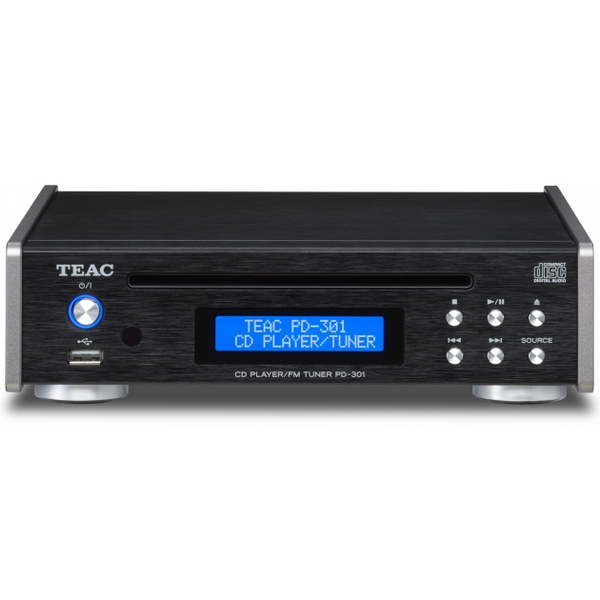 CD проигрыватель TEAC PD-301 Black teac cd p800nt