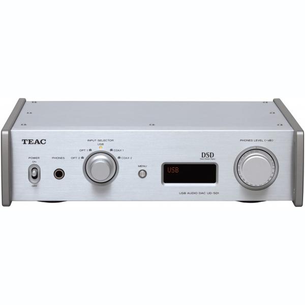 ������� ��� TEAC - TEAC������� ���<br>�����-���������� ���������������, ��� Burr-Brown PCM1795, ��������� DSD, USB ASIO 2.1, XLR ������, ����� �� ��������,  �������� (�����) 290�81�244 ��, ��� 4 ��.<br>