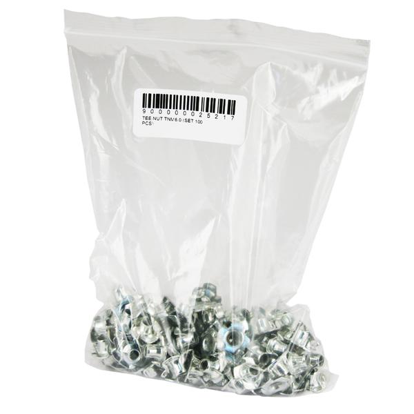 Гайка Tee Nut TNM6.0 (комплект 100 шт.)