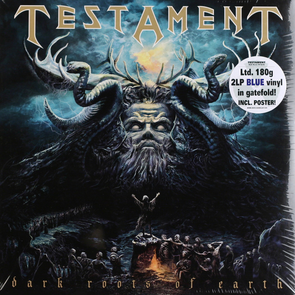 Testament Testament - Dark Roots Of Earth (2 Lp, 180 Gr) guano apes guano apes proud like a god 180 gr colour