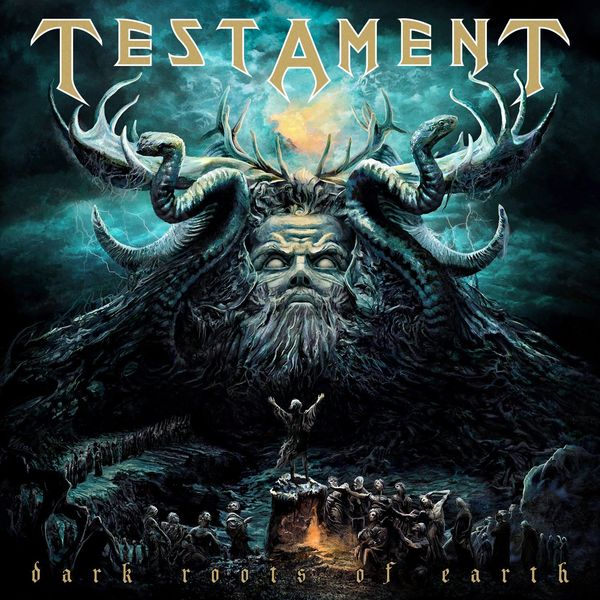house of earth Testament Testament - Dark Roots Of Earth (2 LP)
