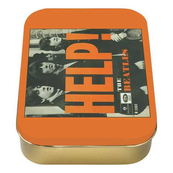 Коробка The Beatles - Help! Orange
