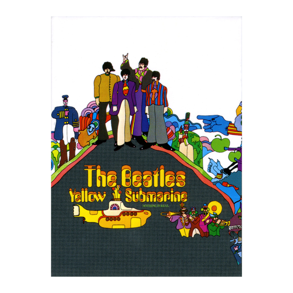 Магнит The Beatles - Yellow Submarine