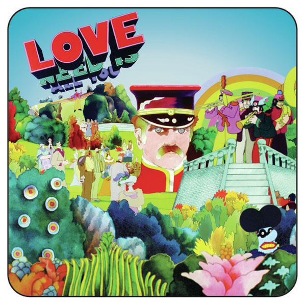 Подставка The Beatles - Yellow Submarine Pepper Land