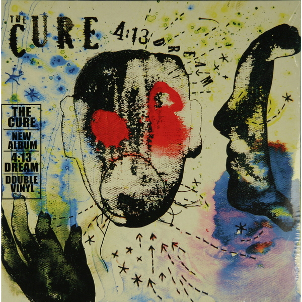 THE CURE THE CURE - 4:13 DREAM (2 LP) the cure 4 13 dream