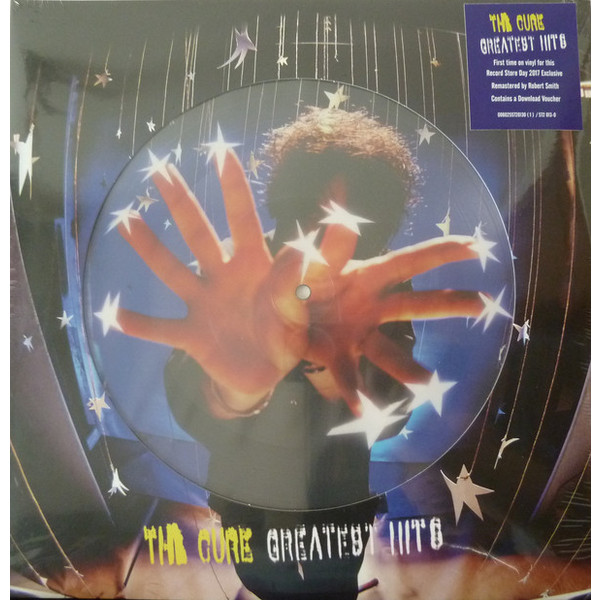 THE CURE THE CURE - GREATEST HITS (2 LP, PICTURE) the cure 4 13 dream