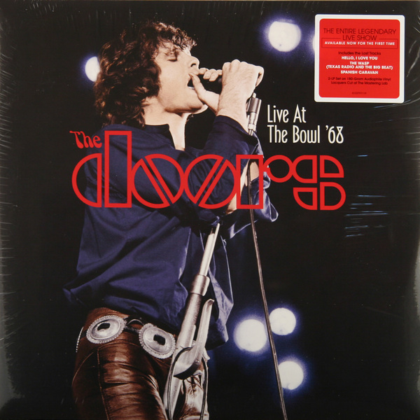 The Doors The Doors - Live At The Bowl '68 (2 Lp, 180 Gr) цена и фото