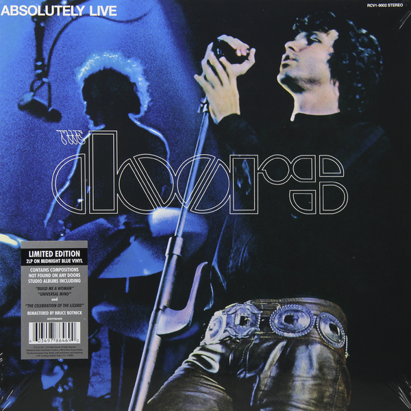 The Doors The Doors - Absolutely Live (2 LP) atlas mavros ultra 1 0m xlr