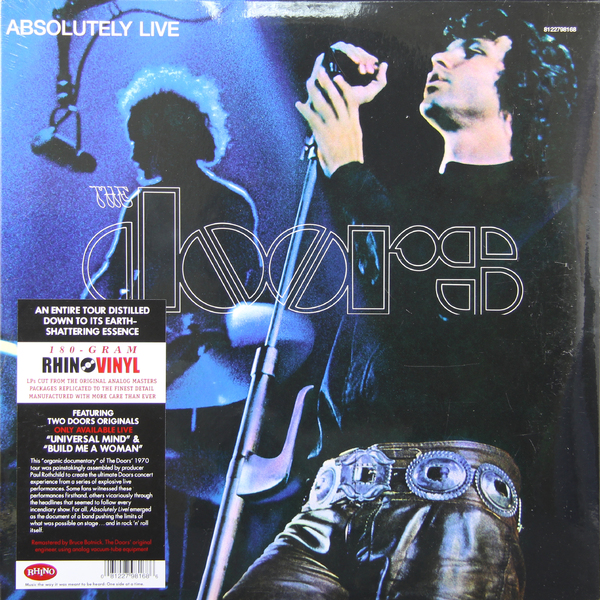 The Doors The Doors - Absolutely Live (2 Lp, 180 Gr) the doors – the doors lp 3 cd