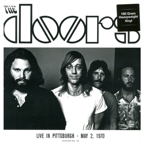 The Doors The Doors - Live In Pittsburgh '70 (2 LP) the doors – the doors lp 3 cd