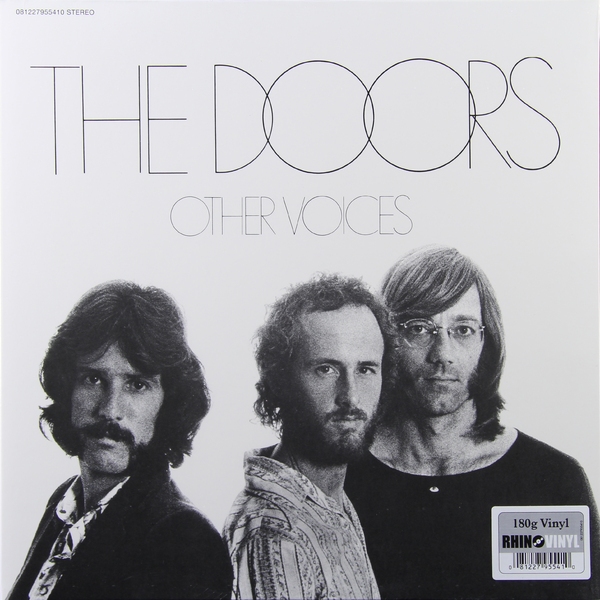 THE DOORS THE DOORS - OTHER VOICES (180 GR) the doors the doors morrison hotel 180 gr