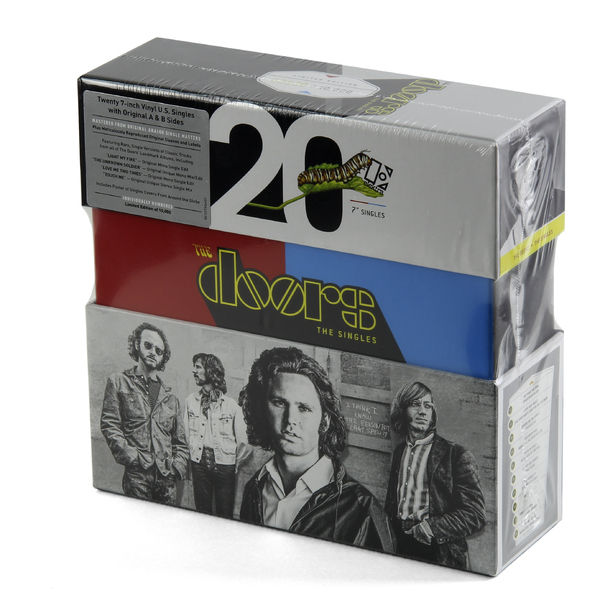 The Doors The Doors - The Singles (20x7 ) cd диск the doors when you re strange a film about the doors songs from the motion picture 1 cd
