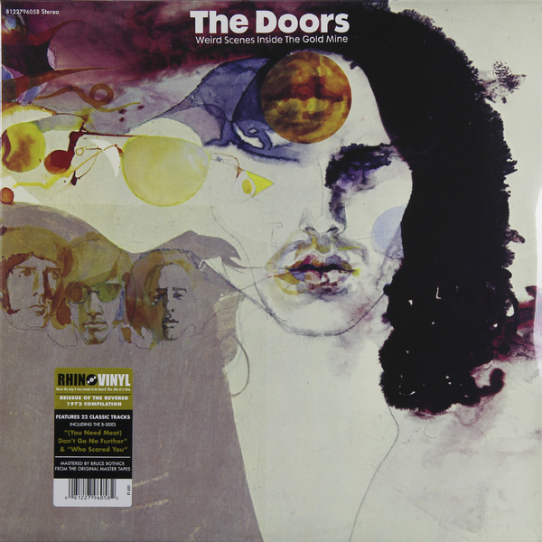 The Doors The Doors - Weird Scenes Inside The Goldmine (2 LP) цена и фото