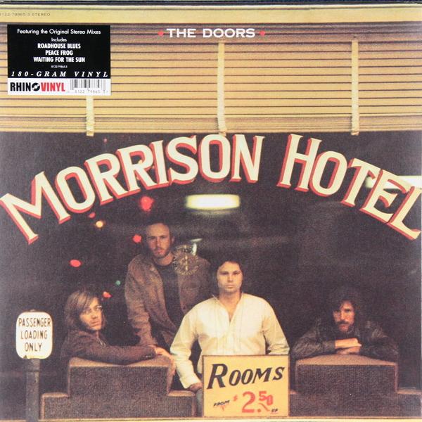 THE DOORS THE DOORS - MORRISON HOTEL (180 GR) the doors the doors morrison hotel 180 gr