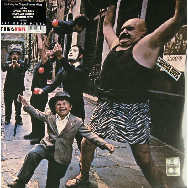 THE DOORS THE DOORS-STRANGE DAYS (180 GR) Rhino RecordsВиниловая пластинка<br><br>
