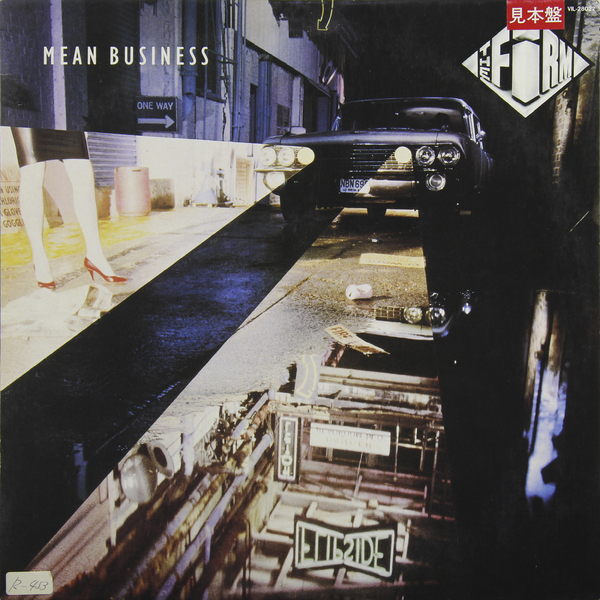 THE FIRM THE FIRM - MEAN BUSINESS (JAPAN ORIGINAL. 1ST PRESS. PROMO) (винтаж)