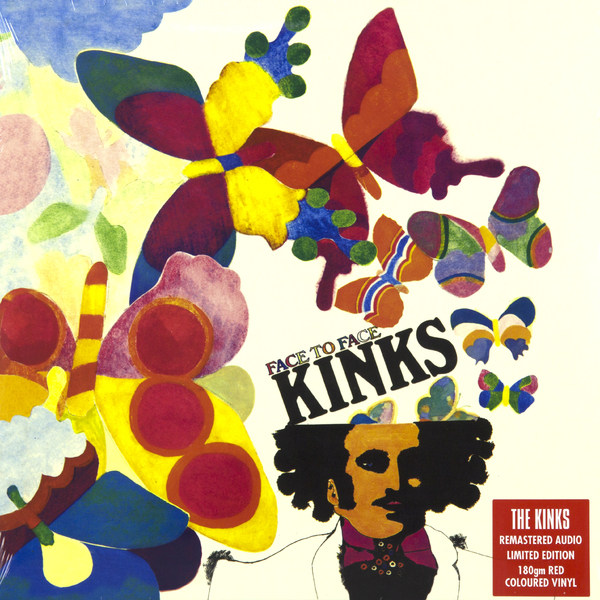 THE KINKS THE KINKS - FACE TO FACE (180 GR) стоимость