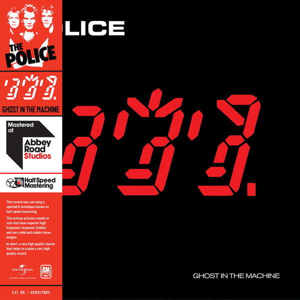 THE POLICE THE POLICE - GHOST IN THE MACHINE (HALF SPEED VINYL) police plc 12895ls 02m police