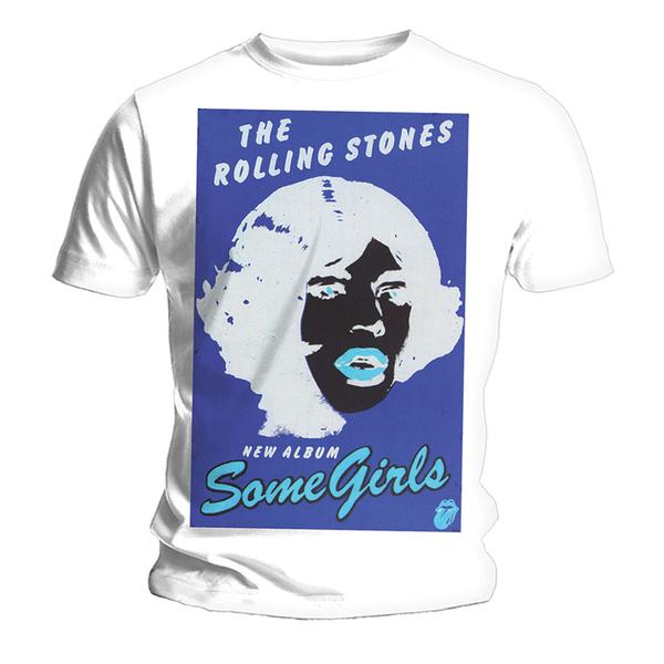 Футболка мужская The Rolling Stones - Black   Blue White (размер L) от Audiomania