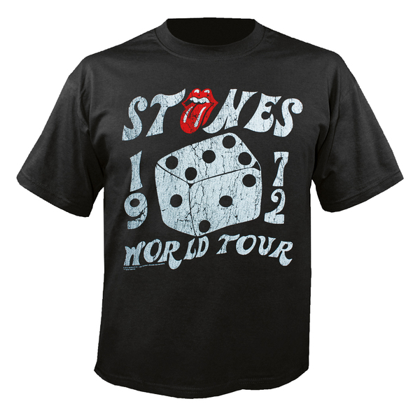 Футболка мужская The Rolling Stones - Dice Tour Black (размер S)