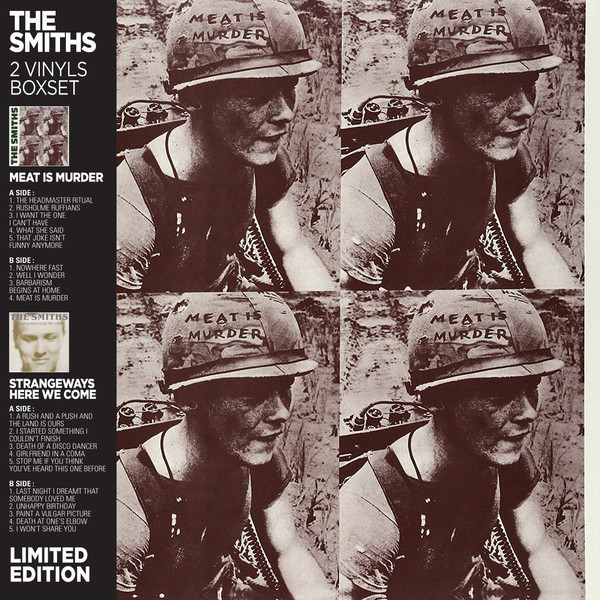 The Smiths The Smiths - Meat Is Murder / Strangeways Here We Come (2 LP) поверхностный насос unipump jet 60 s