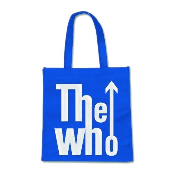 Сумка The Who - LogoСумка<br>Размер 36 х 36 см, длина ручки 27 см, 100 % полипропилен.<br>