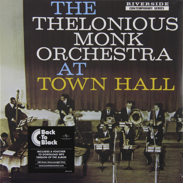 Thelonious Monk Thelonious Monk - At Town Hall (180 Gr) guano apes guano apes proud like a god 180 gr colour