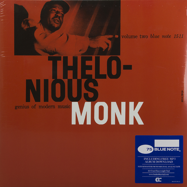 THELONIOUS MONK THELONIOUS MONK - GENIUS OF MODERN MUSIC: VOL.2 (180 GR)Виниловая пластинка<br><br>