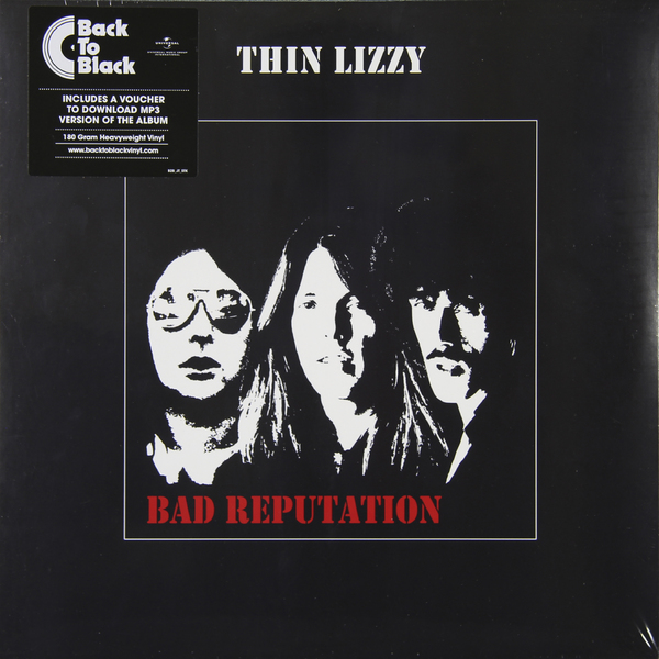 THIN LIZZY THIN LIZZY - BAD REPUTATION (180 GR) penny arcade bad reputation – performances essays interviews