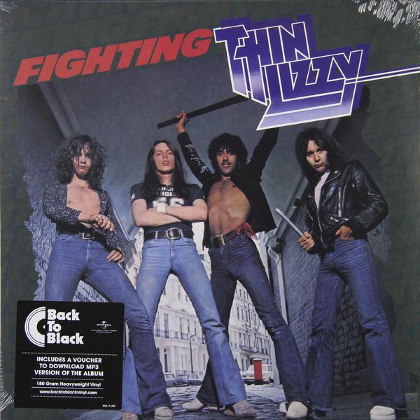 THIN LIZZY THIN LIZZY - FIGHTING (180 GR) thin lizzy thin lizzy black rose 180 gr