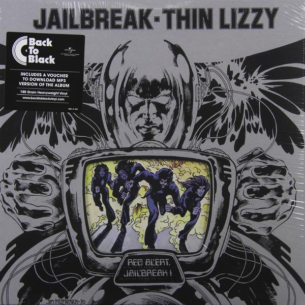THIN LIZZY THIN LIZZY - JAILBREAK (180 GR) thin lizzy thin lizzy black rose 180 gr