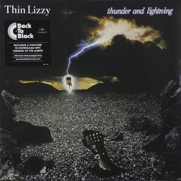 THIN LIZZY THIN LIZZY - THUNDER AND LIGHTNING (180 GR) thin lizzy thin lizzy black rose 180 gr