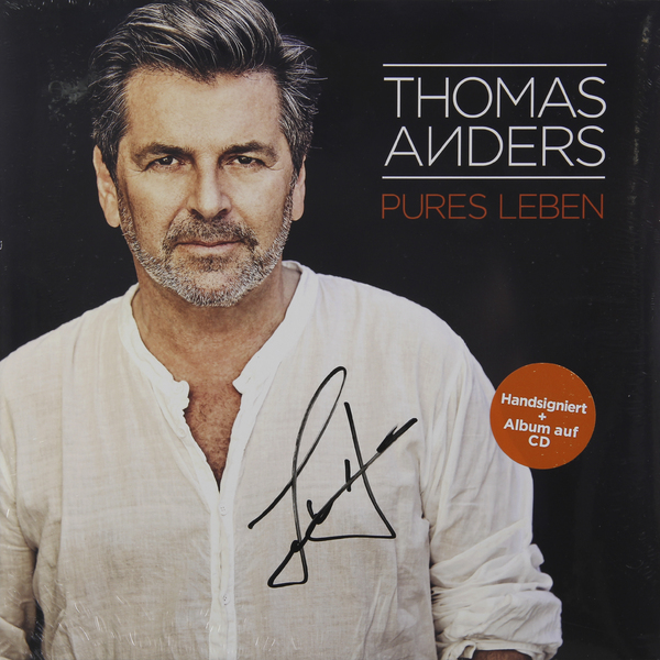 THOMAS ANDERS THOMAS ANDERS - PURES LEBEN (2 LP+CD)  thomas 787244