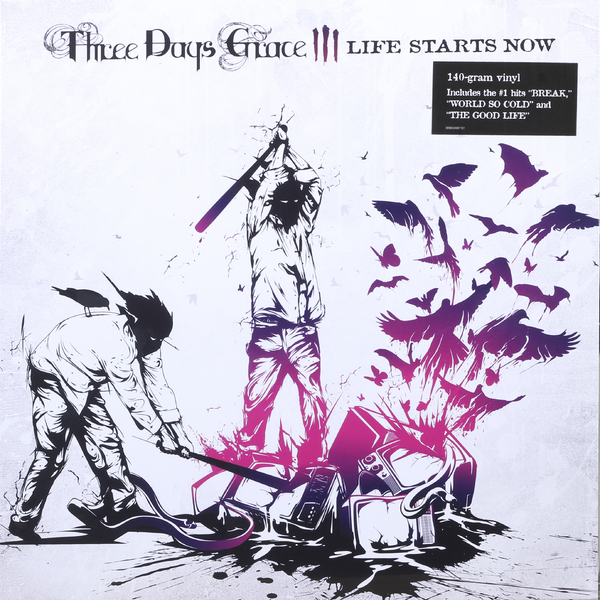 цены на Three Days Grace Three Days Grace - Life Starts Now в интернет-магазинах