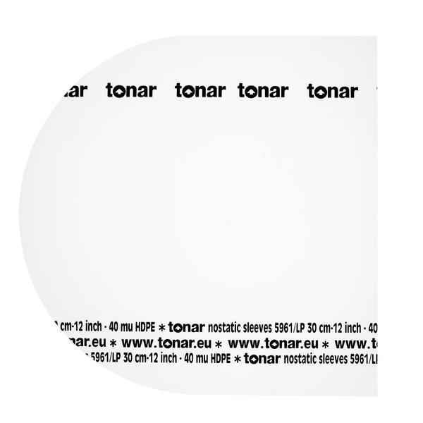 Конверт для виниловых пластинок TonarКонверт для виниловых пластинок<br>Внутренний конверт для виниловых пластинок размером 12 дюймов. В упаковке 50 штук.<br>
