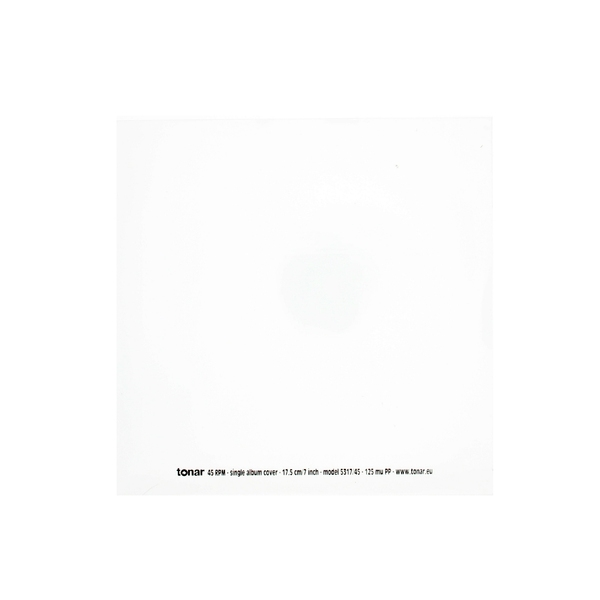 Конверт для виниловых пластинок Tonar 7  45 RPM OUTER SLEEVE (50 шт.) цена и фото