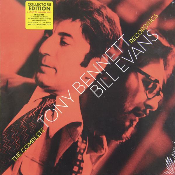 Bill Evans Bill EvansTony Bennett,  - The Complete Records (4 Lp Box) bill evans bill evans conversations with myself 180 gr