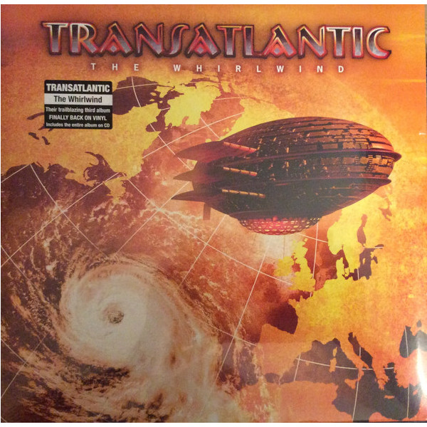 Transatlantic Transatlantic - The Whirlwind (2 Lp + Cd) vildhjarta vildhjarta masstaden lp cd