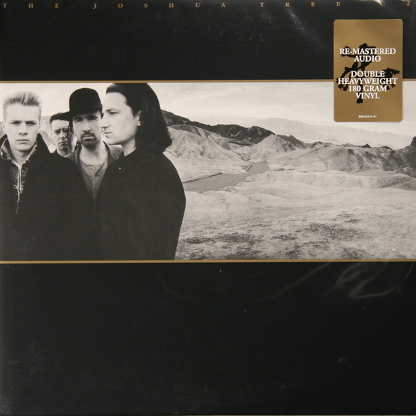 U2 U2 - THE JOSHUA TREE (2 LP) u2 u2 the joshua tree 2 lp 30 anniversary
