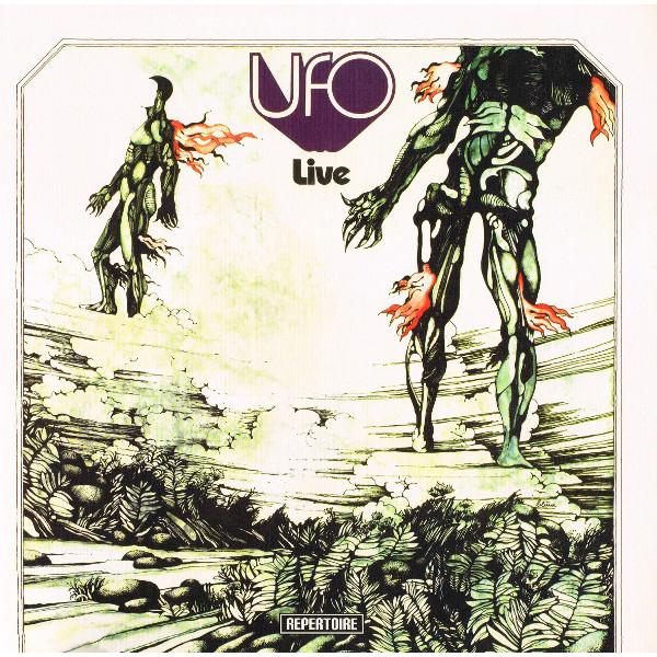 UFO UFO - LIVE (180 GR) ufo ufo showtime blu ray