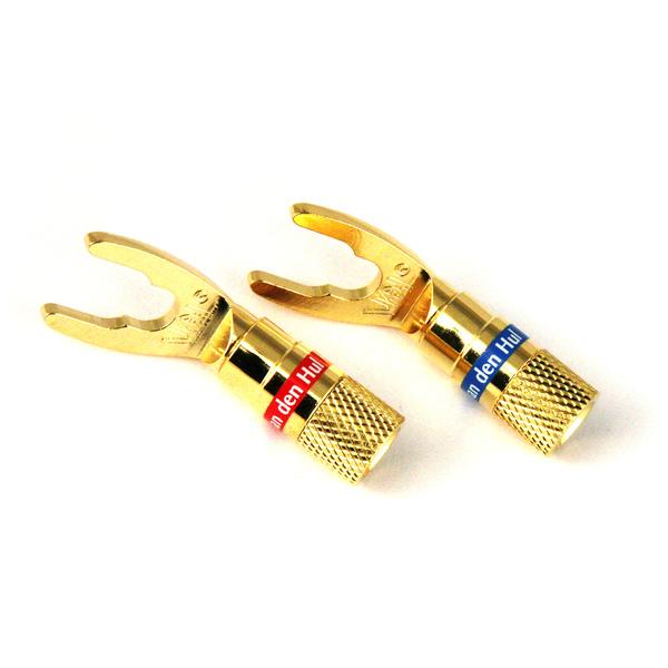 Разъем акустический типа  лопатка   DIY Spade 3.0 mm (4 шт.)