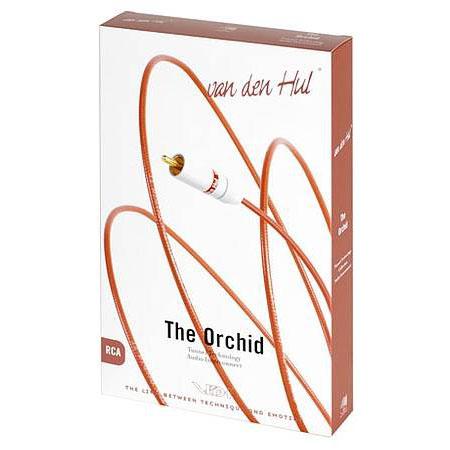 Кабель межблочный аналоговый XLR Van den Hul Orchid 1 m van den hul isis single rca 1 2m