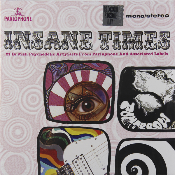 Various Artists Various Artists - Insane Times - 21 British Psychedelic Artyfacts From Parlophone And Associated Labels (2 LP) 1 set spkg scaler perio tips kit for satelec endosuccess retreatment kit and nsk paro set b and gnatus hu friedy dental scalers