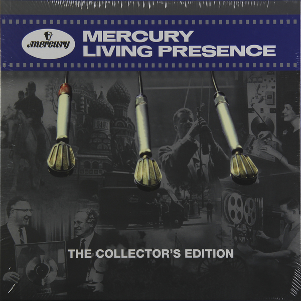 VARIOUS ARTISTS VARIOUS ARTISTS - MERCURY LIVING PRESENCE: THE COLLECTOR'S EDITION (6 LP) various artists various artists mamma roma addio