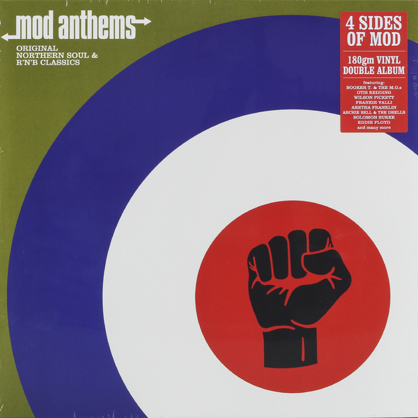 все цены на  VARIOUS ARTISTS VARIOUS ARTISTS - MOD ANTHEMS (2 LP)