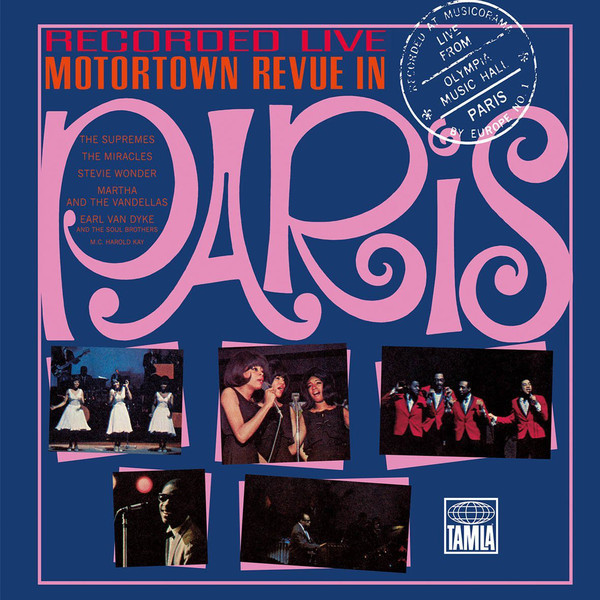 Various Artists Various Artists - Motortown Revue In Paris (3 LP) various artists various artists mamma roma addio