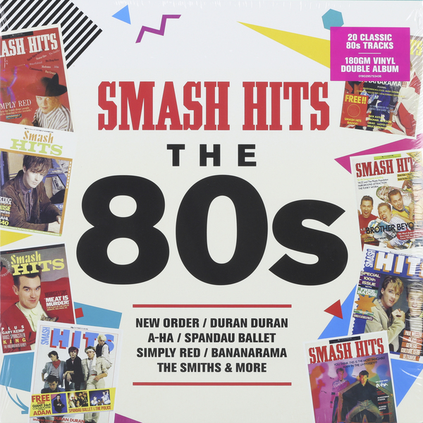 Various Artists Various Artists - Smash Hits: The 80s (2 LP) various artists various artists 12 inch dance 80s groove 2 lp